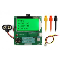 GM328A Transistor Tester (ER-TET32812T) detect NPN,PNP,Bipolar transistor,N Channel and P Channel MOS Field,...