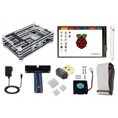 Elecrow Starter Kit for Raspberry Pi Model B/2/3 Power Supply EU/US (ER-RPD38990E)