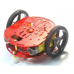 FEETECH 2WD Mini Smart Robot Mobile Platform Kit FT-DC-002 (ER-RPM15040C)