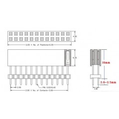 30pin and 12pin Header Sockets    (Hardkernel G145257827525)