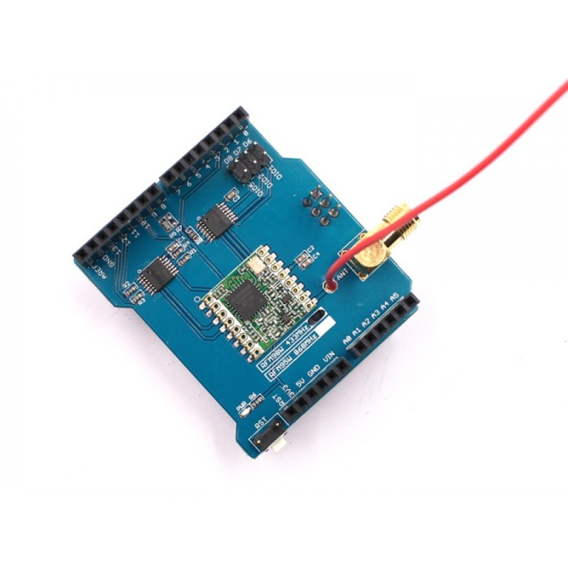 LoRa Radio Shield 433MHz for Arduino (MF-OAS433MLR) RFM98W