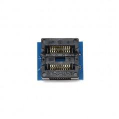 SOP20 To DIP20 208mil IC Test And Burn-In Socket With Spring (Itead IM120809003)