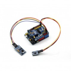 UNO PLUS Package A, Improved UNO (100% Arduino-Compatible) UNO R3, ATMEGA328P-AU with Various Sensors