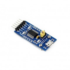 FT232 USB UART Board micro USB (Waveshare) USB TO UART solution with USB micro connector