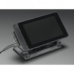 """SmartiPi Touch - Stand for Raspberry Pi 7"""" Touchscreen Display (No LEGO on front)"""