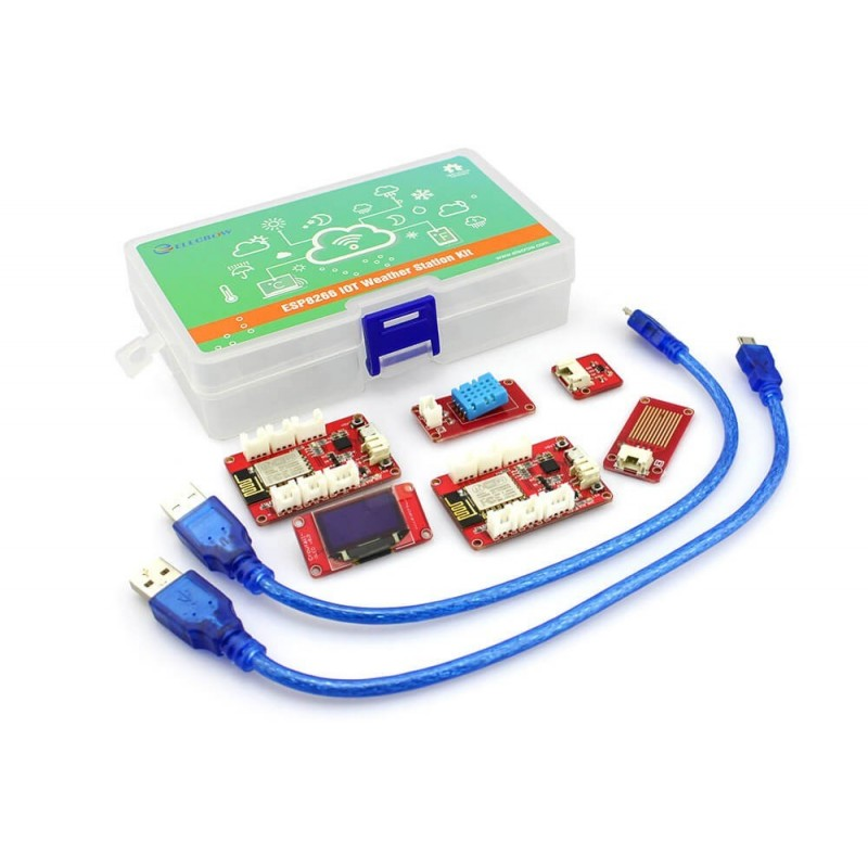 ESP8266 IOT Weather Station Kit (ER-CRT13450K)