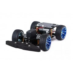 4WD RC Smart Car Chassis with S3003 Metal Servo & Bearing Kit for Arduino (ER-RBP68138C)