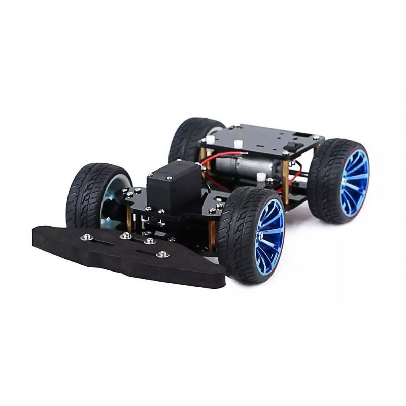 Wd rc smart car chassis with s metal servo bearing
