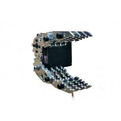CL-4 Aluminium Robot Arm Clamp Claw Mount Kit with MG996R Servo (ER-RBP15093C)