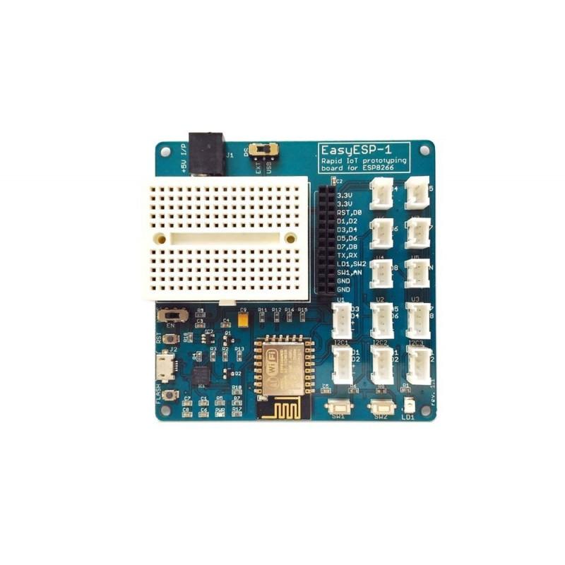EasyESP-1: An ESP8266 experimenter board for beginners (ER-CDE82664E ...