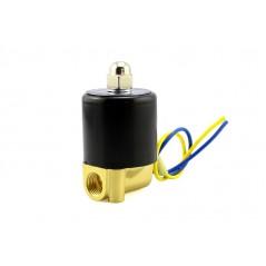 Brass Liquid Solenoid Valve  12V, 1/4NPS  (ER-ACS23075N)