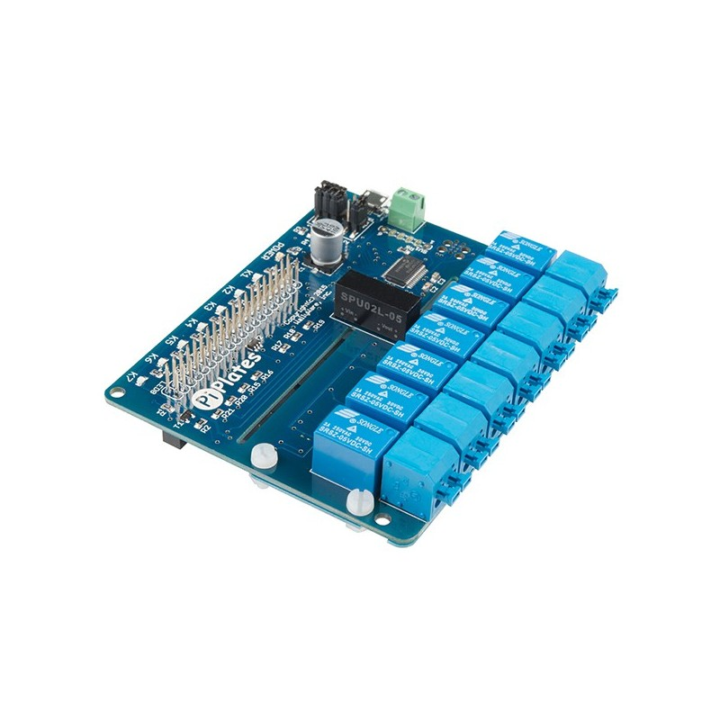 RELAYplate (Sparkfun DEV-14150) Pi-Plates is the first dedicated relay board for the Raspberry Pi
