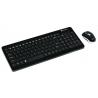 Wireless bezdrôtové combo - multimed. klávesnica + opt. myš 800/1200/1600dpi, SK, čierne (Keyboard + Mouse - Black)