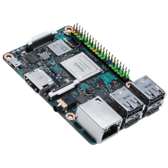 ASUS Tinker Board (Rockchip Quad-Core 1.8GHz, 2GB RAM,WiFi,BT,1Gbit LAN, HD)