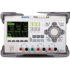 DP832 (RIGOL) Triple Output, 195 Watt Power Supply V,A,W measurements and waveform display