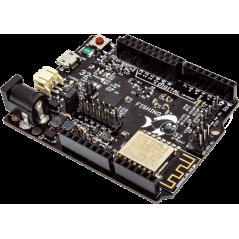 Fishino32 (WiFi, RTC, uSD, 100 % compatible with Arduino UNO, PIC32MX470F512)