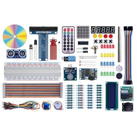 Starter Kit for Raspberry Pi + Arduino (ER-DTR61173K) Application  for Raspberry Pi or Arduino