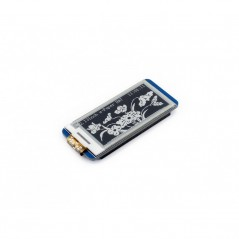 250x122, 2.13inch E-Ink display HAT for Raspberry Pi (WS-12915) e-Paper , SPI interface