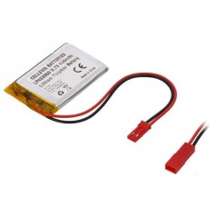 800mAh LIPO L453350 (CELLEVIA BATTERIES) Li-Po 3,7V 800mAh 4,5x33x50mm