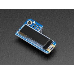 Adafruit PiOLED - 128x32 Monochrome OLED Add-on for Raspberry Pi PRODUCT (AF-3527)