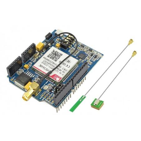 SIM5360E 3G Shield (ER-ARS04053S) Dual-Band HSPA+/WCDMA and Quad-Band GSM/GPRS/EDGE
