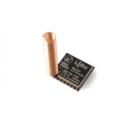 SX1278 LoRa Module 433M 10Km  (ER-CRF12784L) Supports FSK, GFSK, MSK, GMSK, LoRa ™ & OOK mod. 127dB RSSI dynamic range
