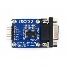 RS232 Board (Waveshare 3965) SP3232 on board, 3V-5.5V, ESD enhanced, hardware flow control supported