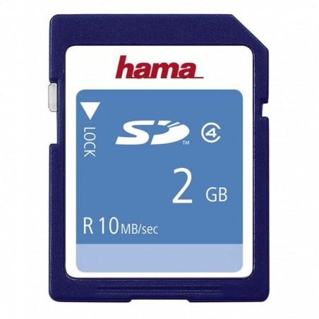 HighSpeed SecureDigital Card 2GB 10 MB/s (Hama 55377)  CLASS4