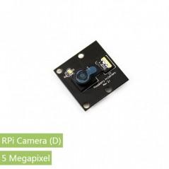 RPi Camera 5Mpix (D) (Waveshare 11297) Raspberry Pi Camera Module 2592×1944 , 1080p30