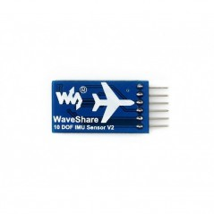 10 DOF IMU Sensor, Low Power  (Waveshare 12476) MPU9255, BMP280