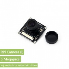 RPi Camera (I), Fisheye Lens  (Waveshare 11388)