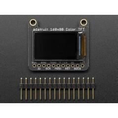 "Adafruit 0.96"" 160x80 Color TFT Display w/ MicroSD Card Breakout - ST7735 (Adafruit 3533)"