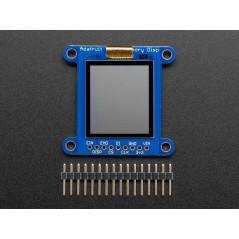 "Adafruit SHARP Memory Display Breakout - 1.3"" 168x144 Monochrome (Adafruit 3502)"