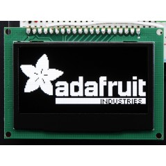 "Monochrome 2.42"" 128x64 OLED Graphic Display Module Kit (AF-2719)"