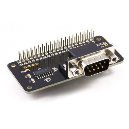 Serial Pi Zero (AB Electronics UK) Control the Raspberry Pi Zero over RS232  or connect to external serial accessories
