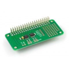 ADC-DAC Pi Zero (AB Electronics UK) 2channel 12bit analogue to digital and digital to analogue converter for Raspberry Pi