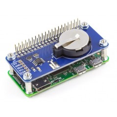 RTC Pi Zero (AB Electronics UK) battery backed real-time clock module for  the Raspberry Pi