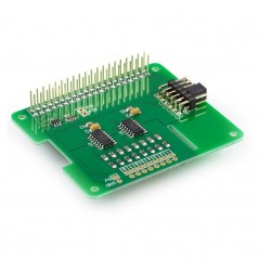 ADC Pi Plus (AB Electronics UK) 8-channel 17-bit analogue to digital converter for Raspberry Pi