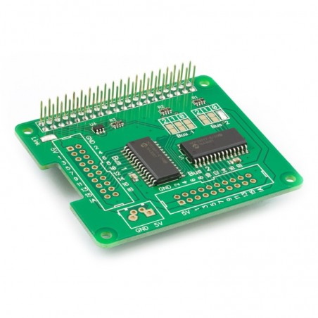 IO Pi Plus (AB Electronics UK) 32-channel digital expansion board for  Raspberry Pi
