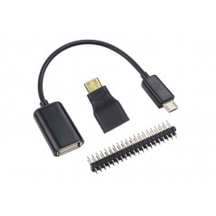 Raspberry Pi Zero W Budget Pack (ER-DRA02025C)