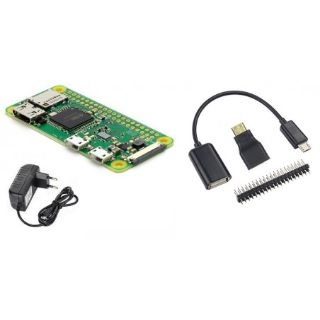 Raspberry Pi Zero W Starter Kit Rlx Zerow Kit
