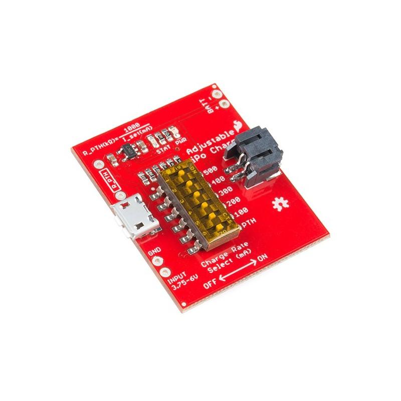 SparkFun Adjustable LiPo Charger (SF-PRT-14380)