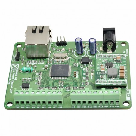 16 Channel Ethernet GPIO Module With Analog Inputs (NU-GPETH160001)