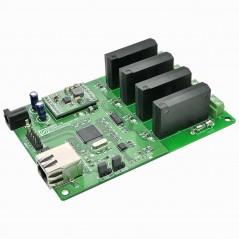 4 Channel Ethernet Solid State Relay Module (NU-4ETHSSR001)