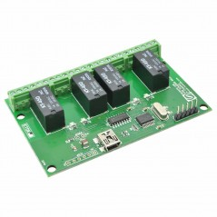 64 Channel USB Relay Module (NU-RL640001)
