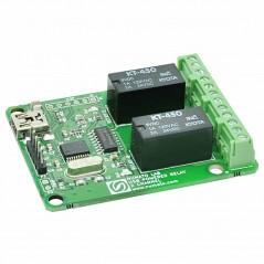 2 Channel USB Powered Relay Module  (NU-USBPOWRL001)