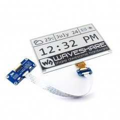 640x384, 7.5inch E-Ink display HAT for Raspberry Pi (WS-13504) SPI interface