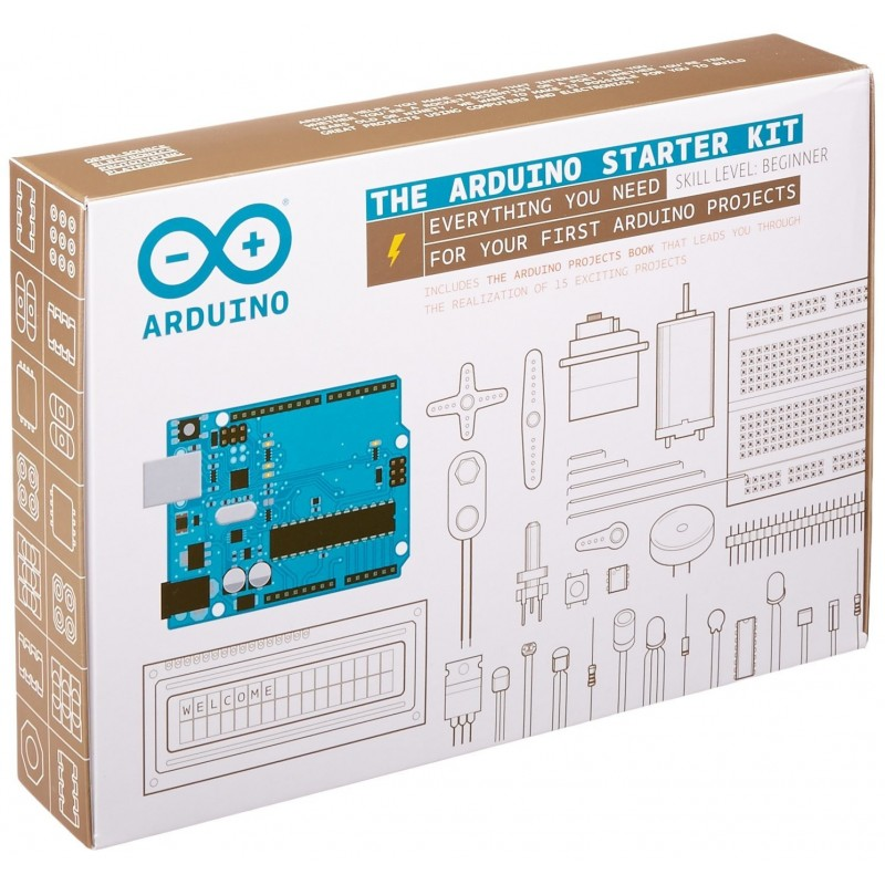 The Arduino Starter kit - ORIGINAL ARDUINO (K000007)
