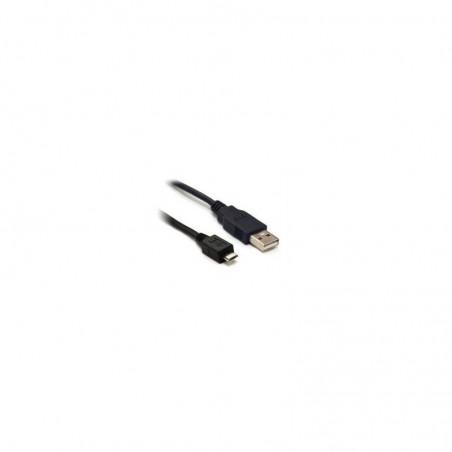 CCP-mUSB2-AMBM-0.3M  USB 2.0 A plug to USB B micro plug 0.3m BLACK  microUSB kabel