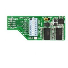 Serial RAM Board (MIKROE-427)